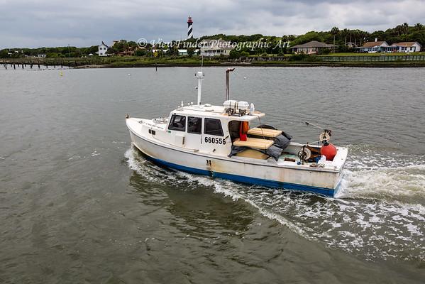 Working St. Augustine Bay